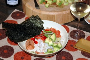 sushi for the scattered
