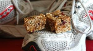 homemade energy bars I: whole grain chews