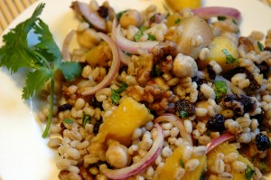 no recipe barley salad