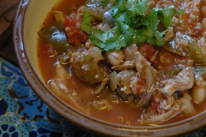 runner's green chili