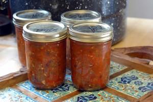 chunky farmer's market salsa