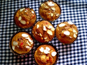 muffin mondays: jessie bea's vegan apple muffins