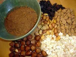 muffin mondays: kim's chocolate oatmeal peanut butter muffins
