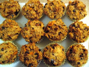 muffin mondays: meghan's sweet potato bran muffins
