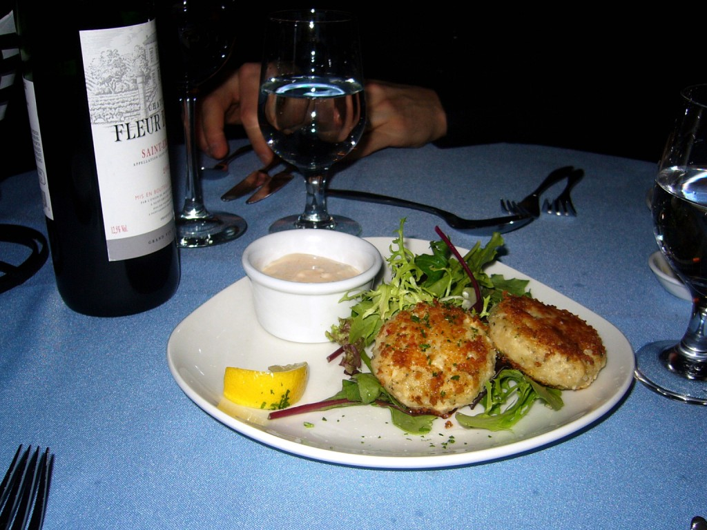 New England Crab Cakes starter