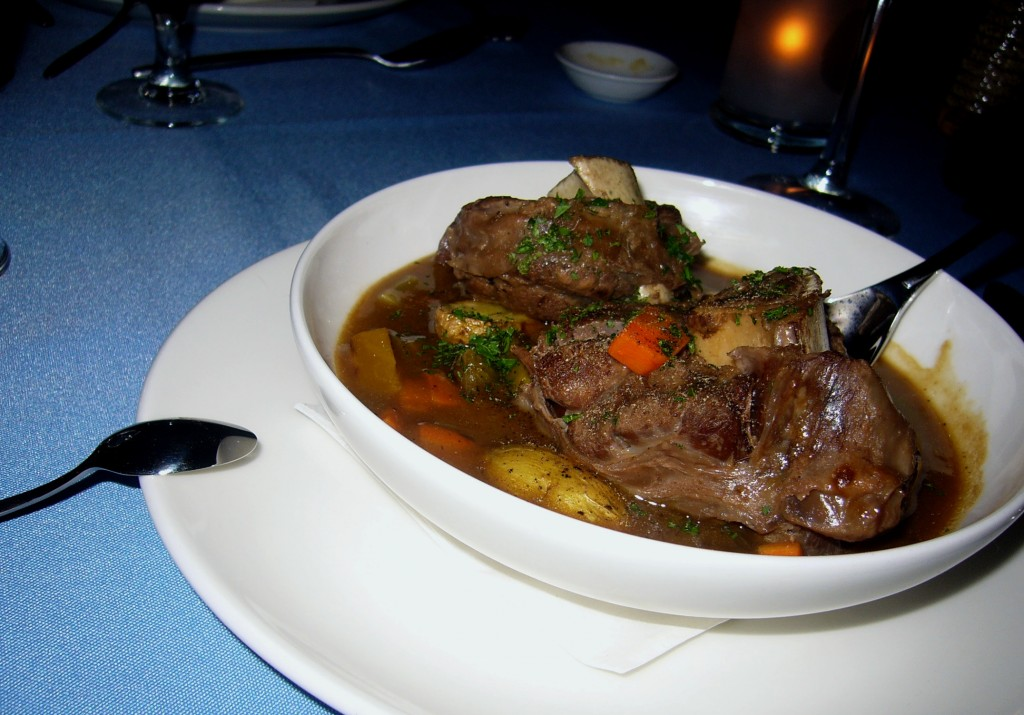 Venison Osso Bucco with Root Vegetables