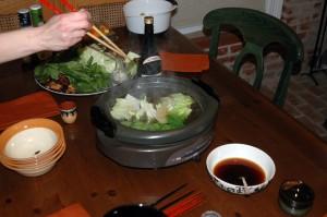 yosenabe (Japanese hot pot)