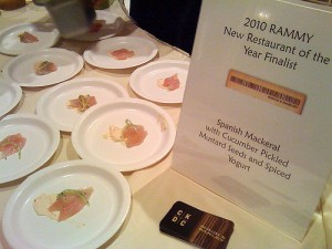 2010 D.C. RAMMY Nominees Announced
