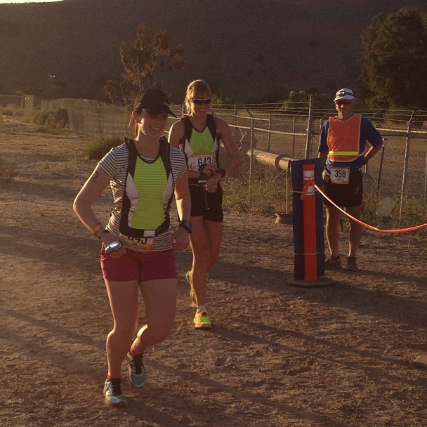 Passing off to Megan on Leg 2.
