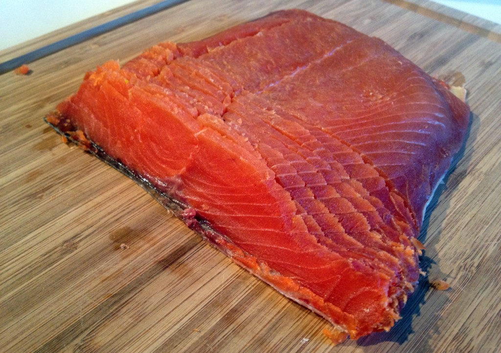 how to make DIY cured salmon