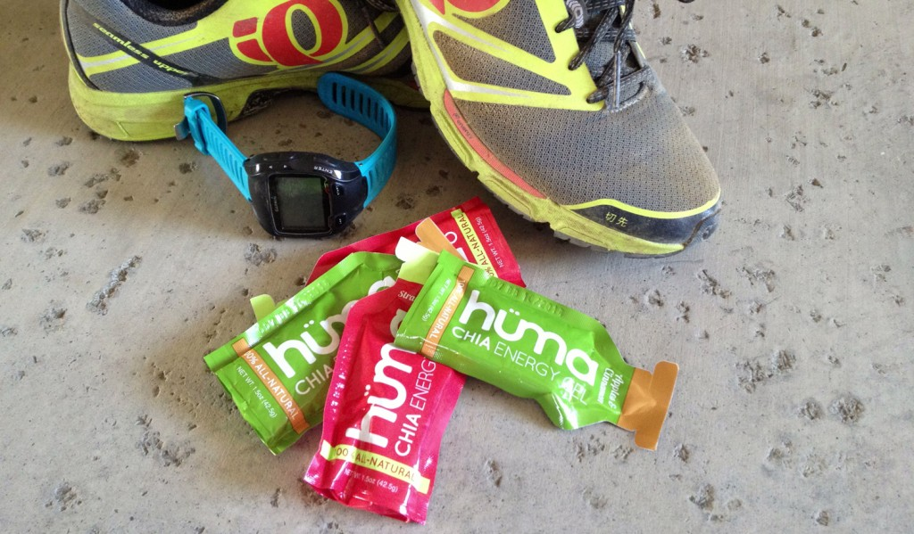 huma chia seed gel for triathlon