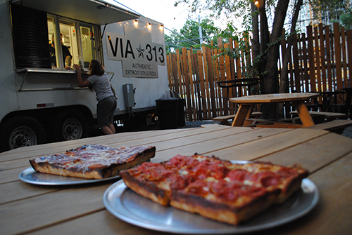 Pizza at Via 313