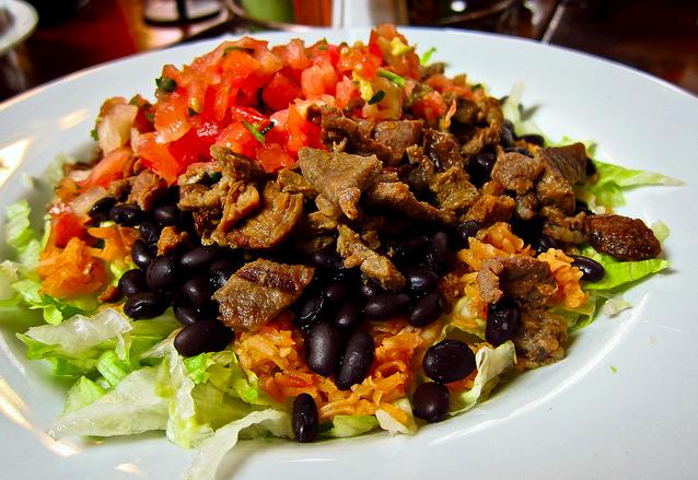 steak burrito bowl