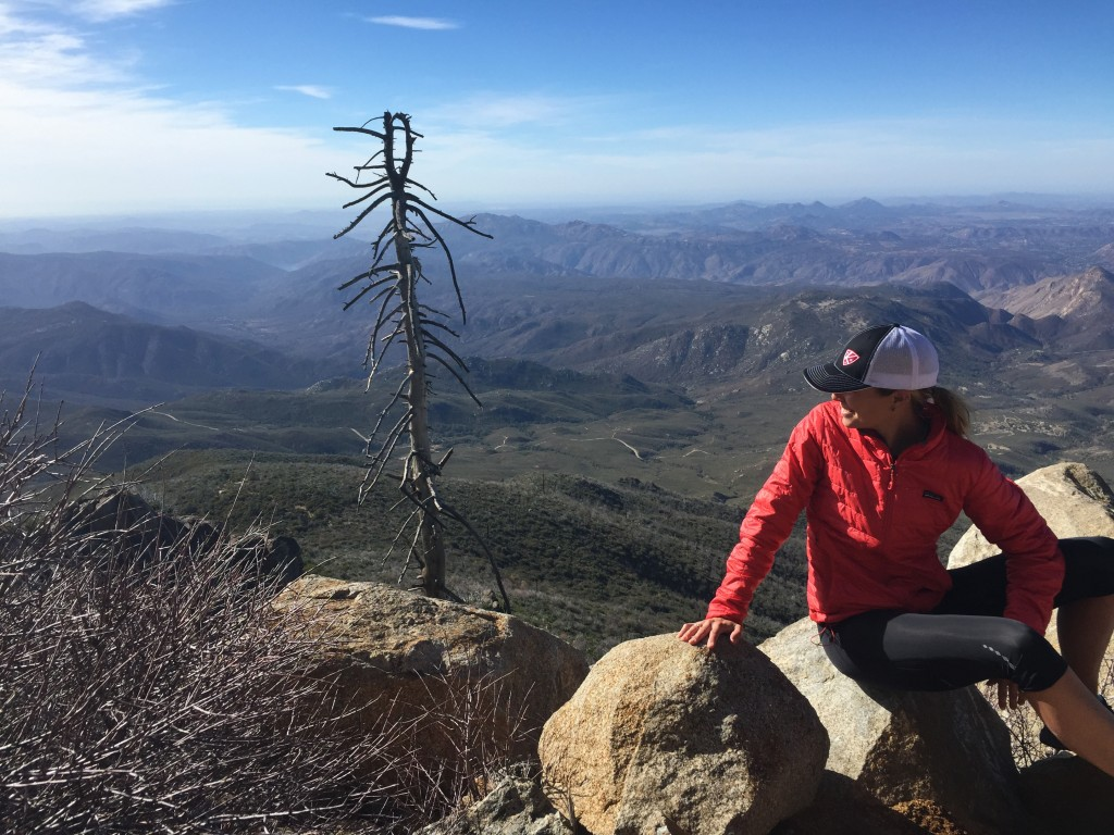 The view from Cuyamaca Peak.