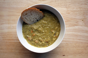 split pea soup with smoked ham hocks