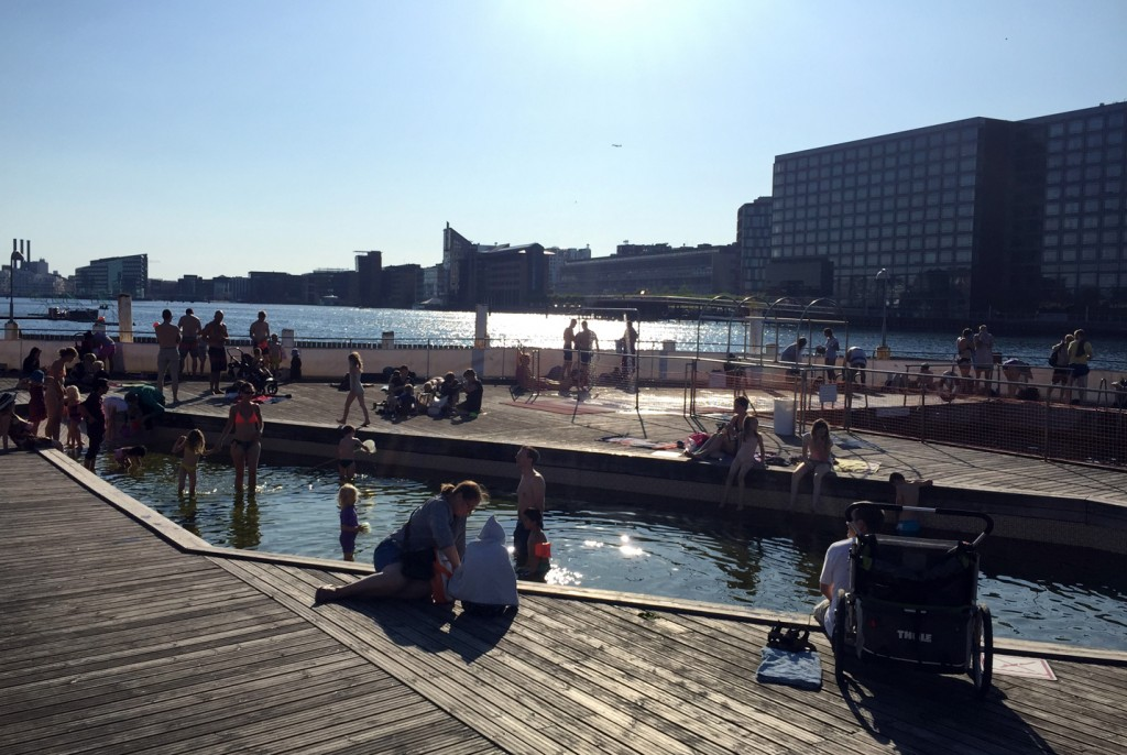 Islands Brygge canal pools.