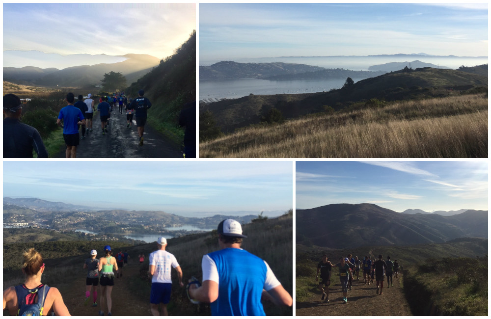 A collage of #TNF50 route scenery, thanks to my friend who brought her phone.