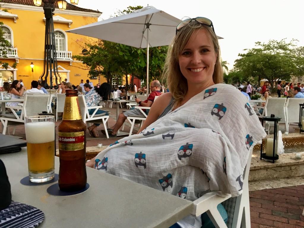 Happy hour (with Felix!) in Plaza Santa Teresa.