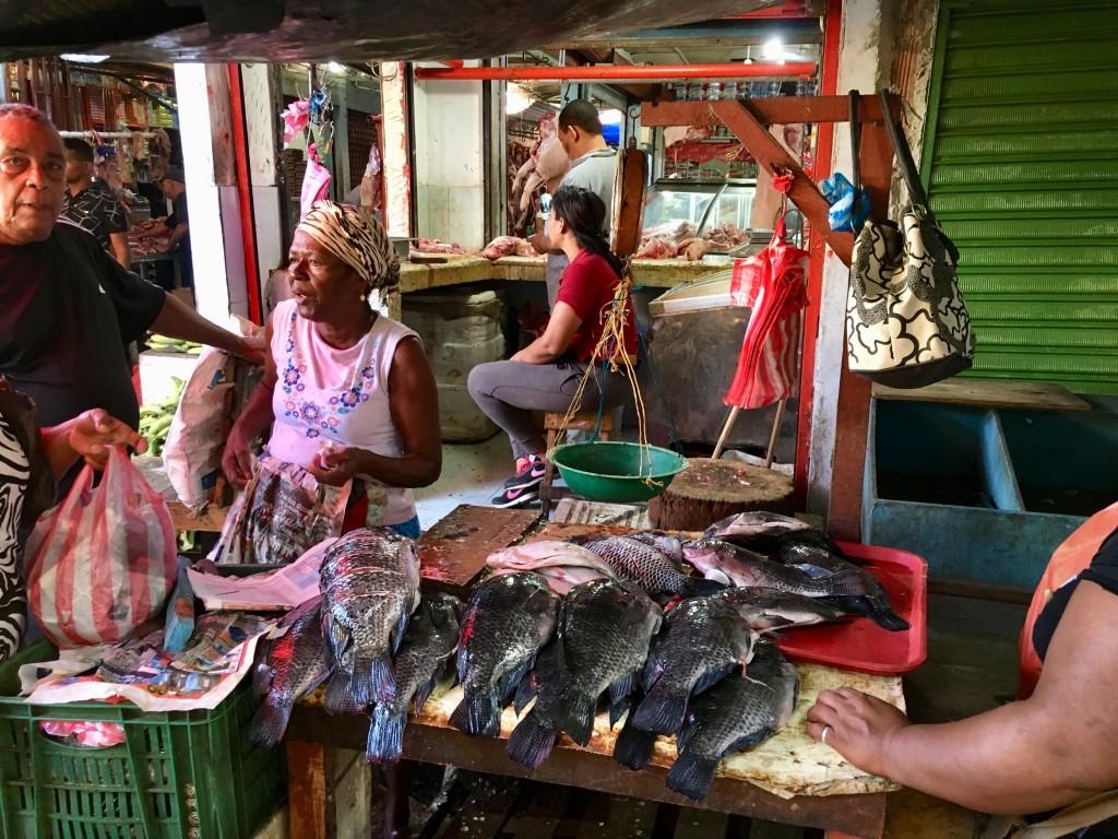 Bazurto market.